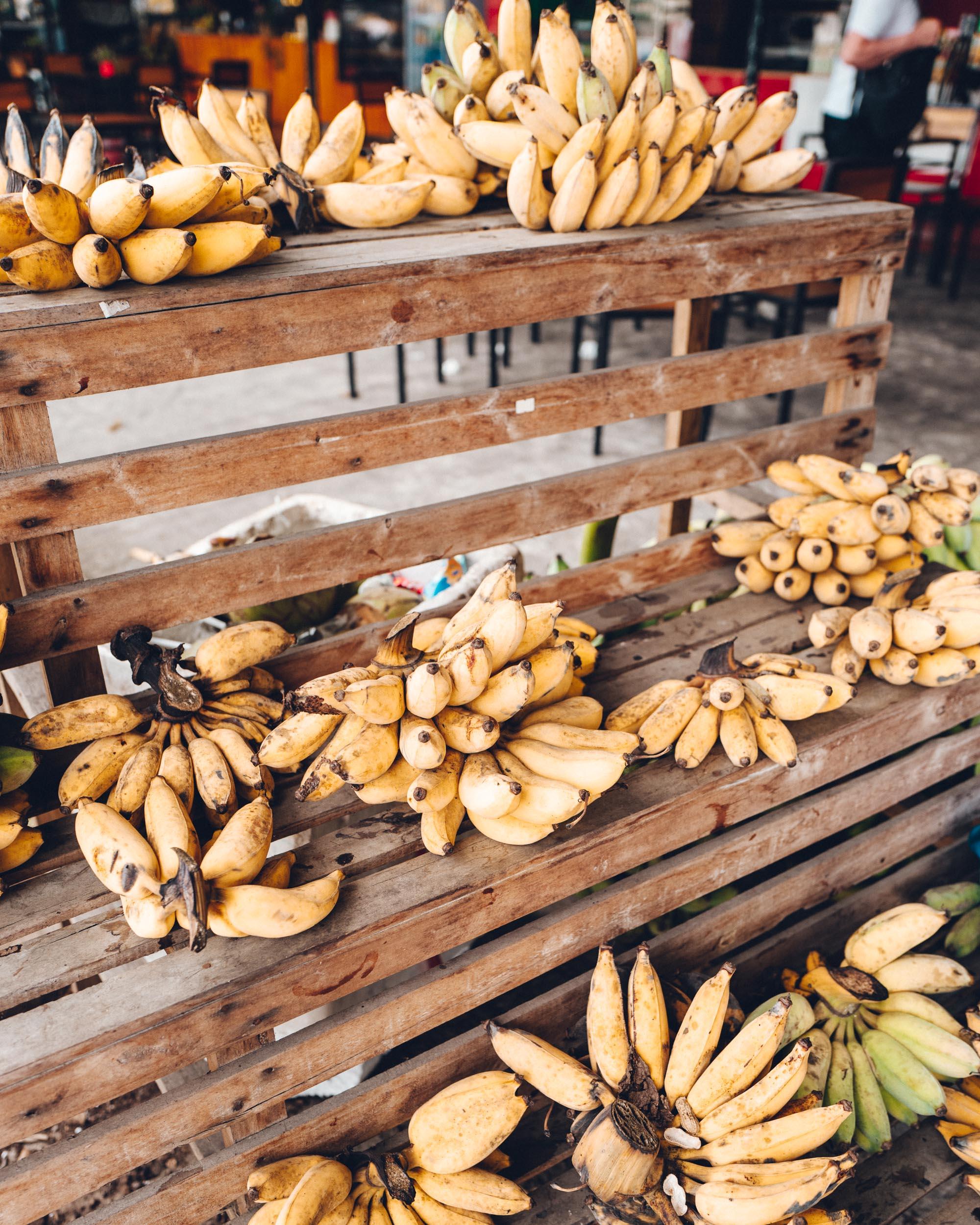 Bananas in Hanoi Vietnam