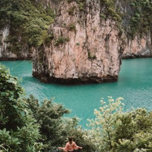 Views of Ha Long Bay in Vietnam