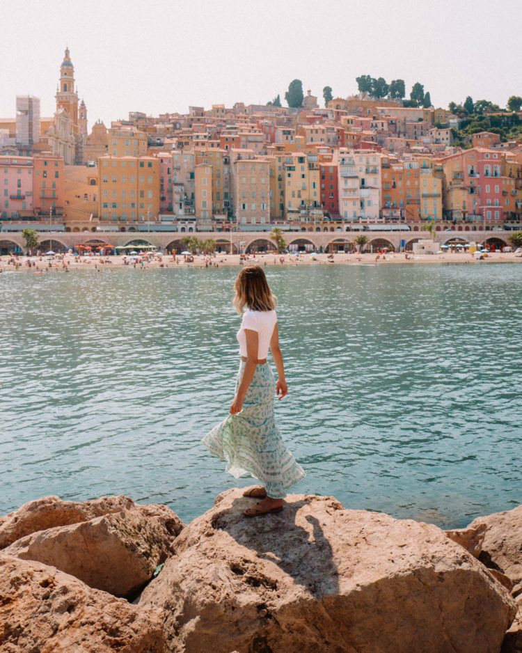 Menton Pastels in the South of France