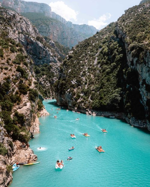 Gorges du Verdon lookout at Pont du Galetas in South of France via Find Us Lost