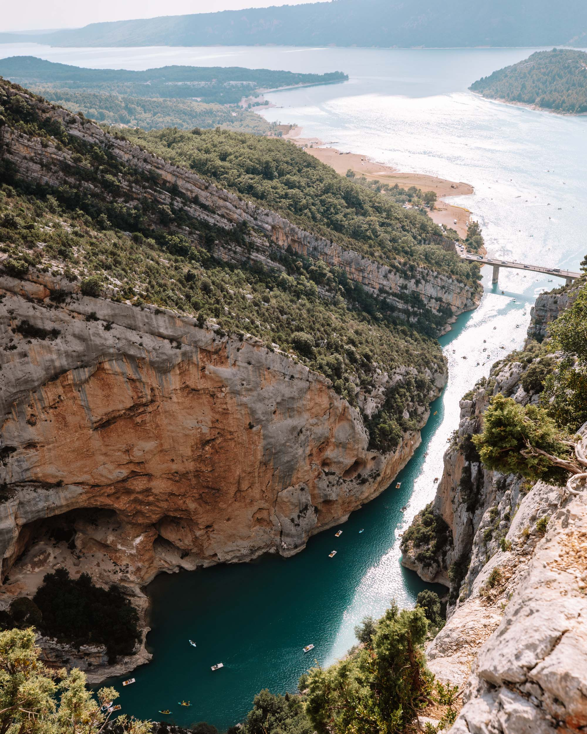 Gorges du Verdon drive in the South of France via Find Us Lost