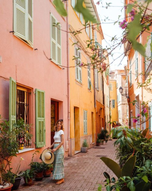 Villefranche-Sur-Mer in the French Riviera