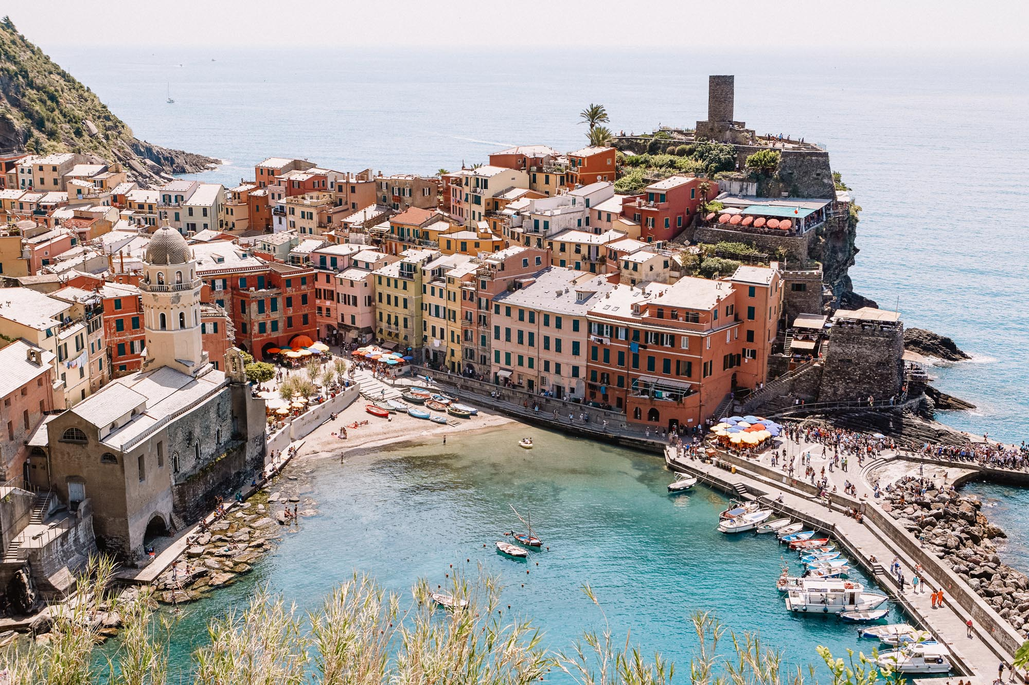 Cinque terre in Italy for our three month Europe road trip