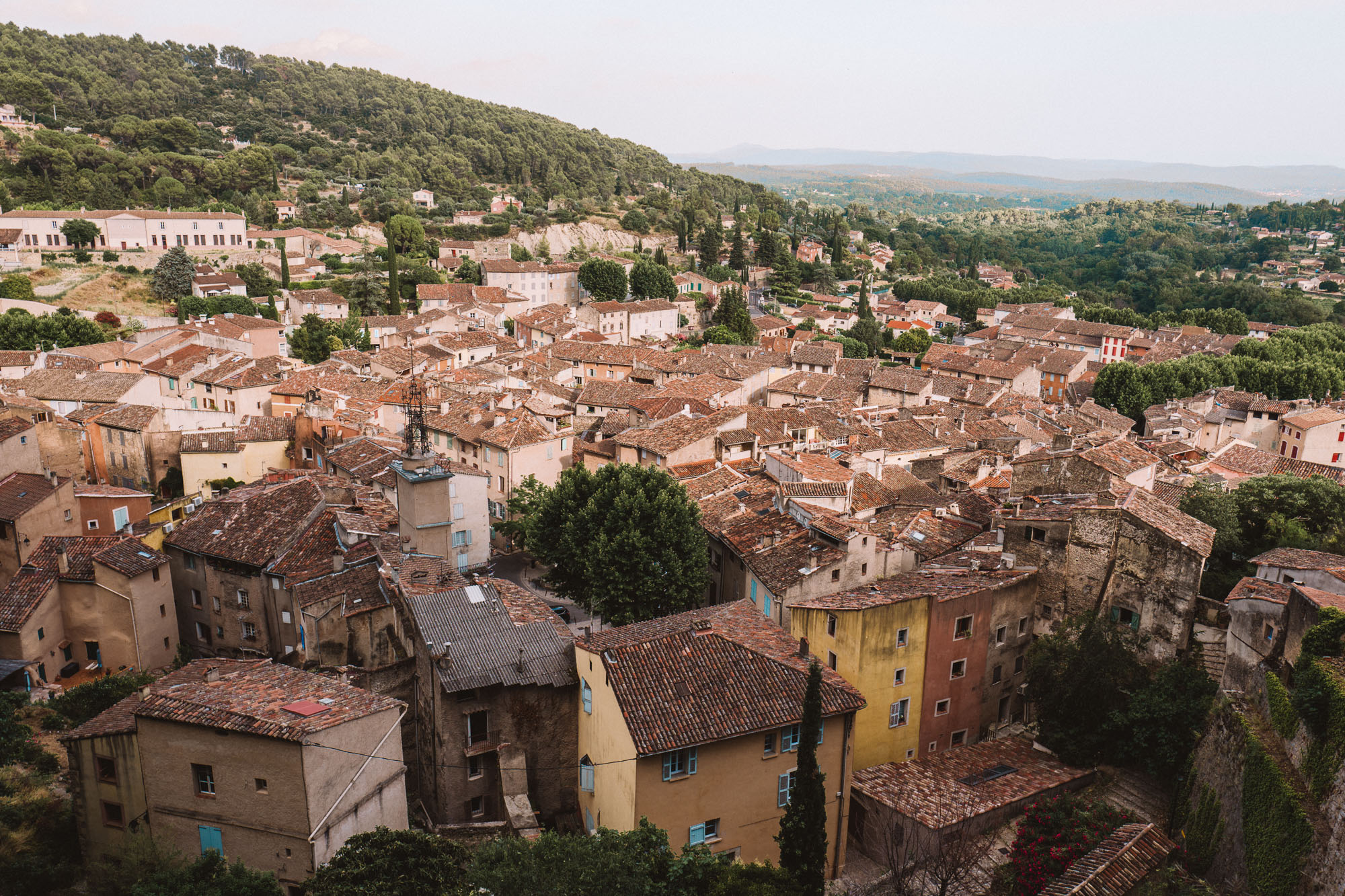 Cotignac town near Gorges du Verdon in the South of France