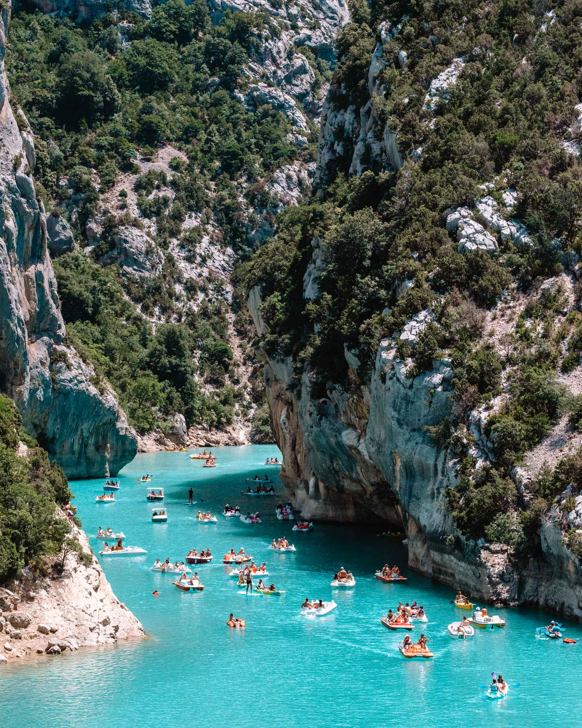 Gorges du Verdon in Provence, South of France
