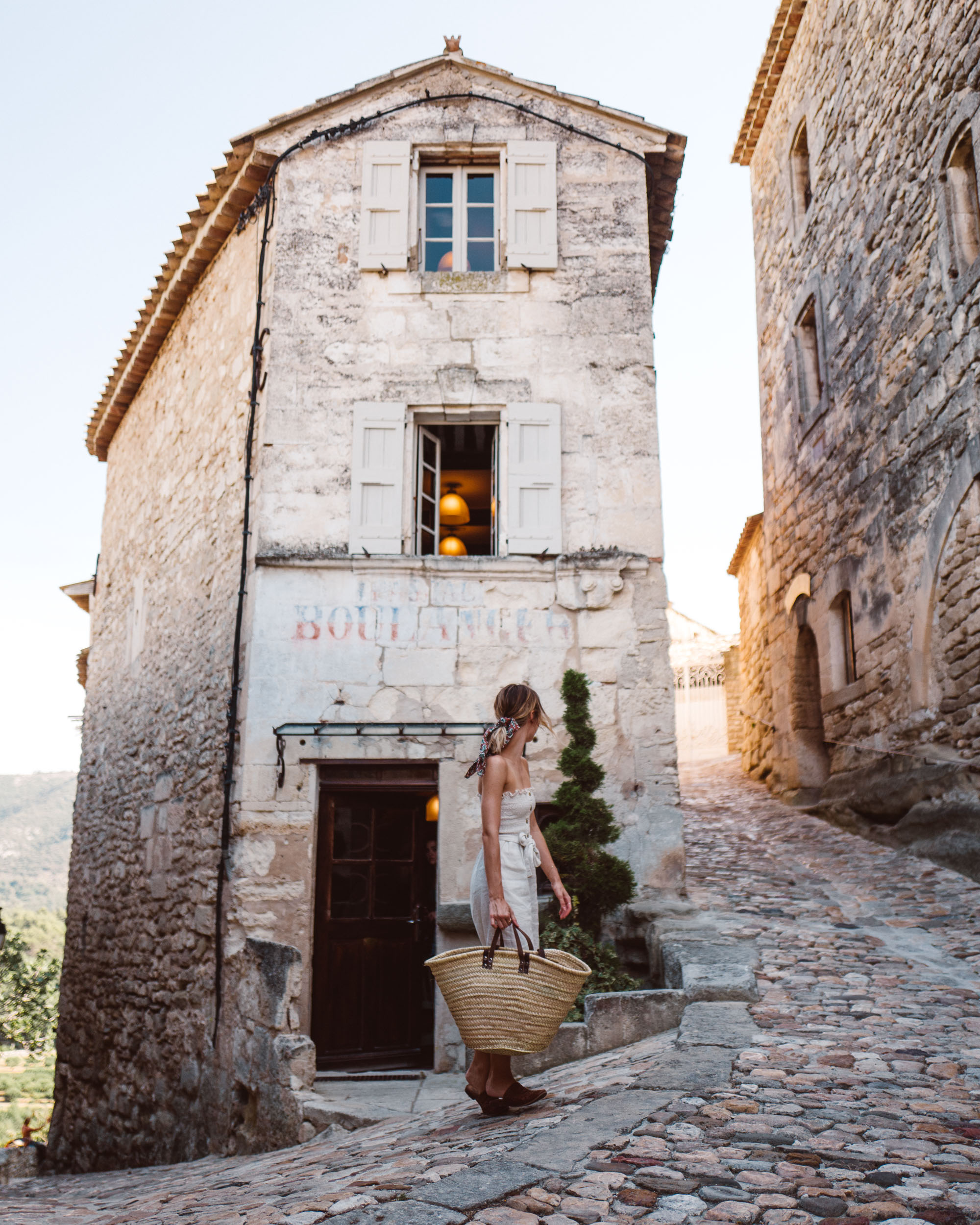 Lacoste hilltop town in Luberon, Provence, France