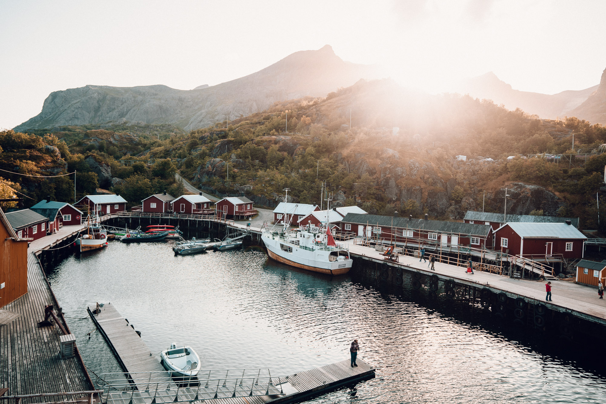 The best hotel in Lofoten Norway Nusfjord Arctic Resort Traditional Fishermen Red Cabin with a Fjord View - Find Us Lost