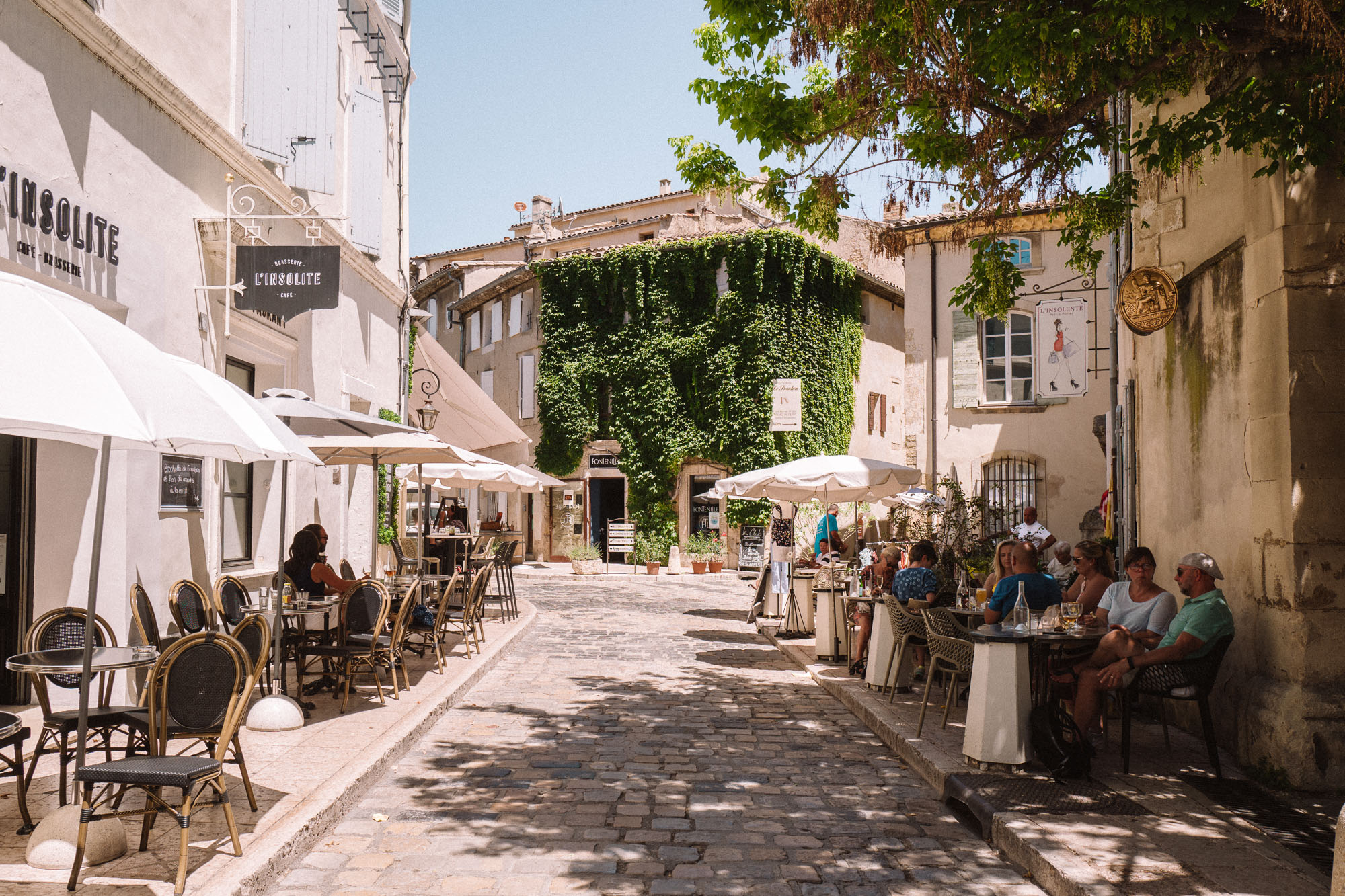 Lourmarin town in Provence France