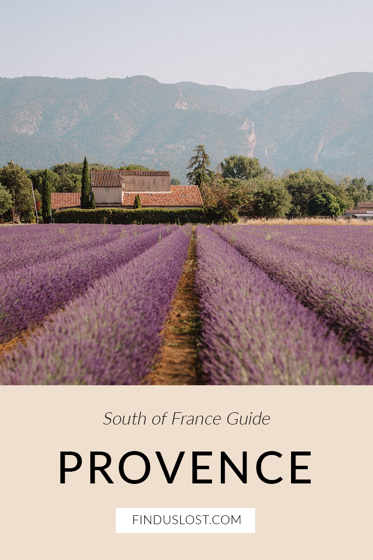 Provence Lavender Fields South of France Guide via Find Us Lost