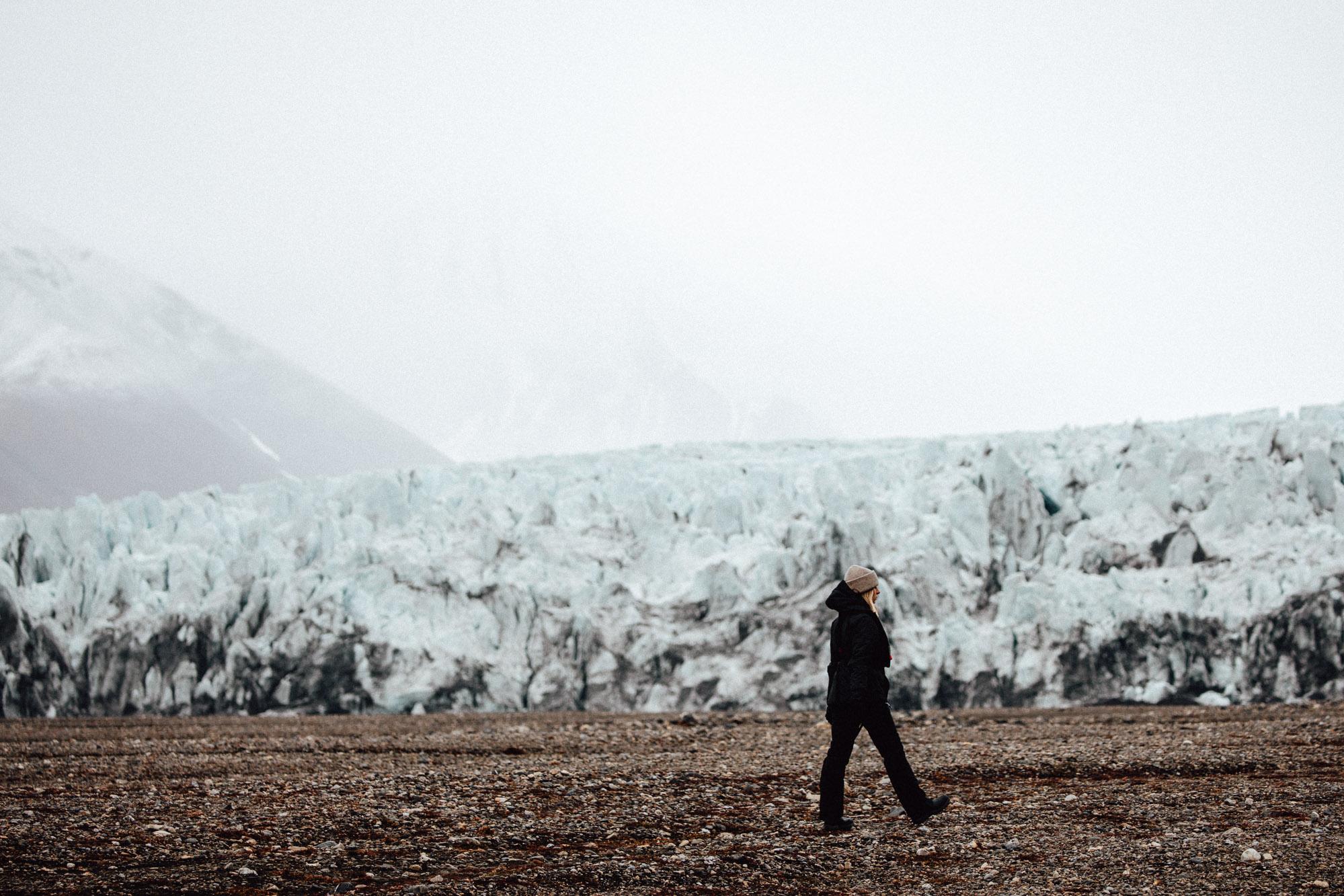 Glaciers in Svalbard, Norway