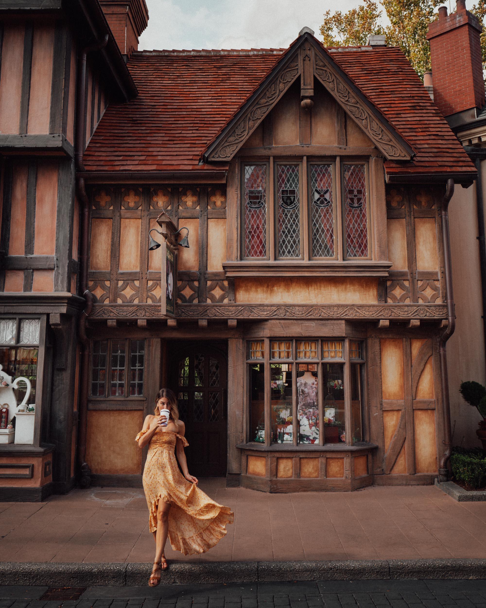 Disney's Epcot Food & Wine Festival little United Kingdom