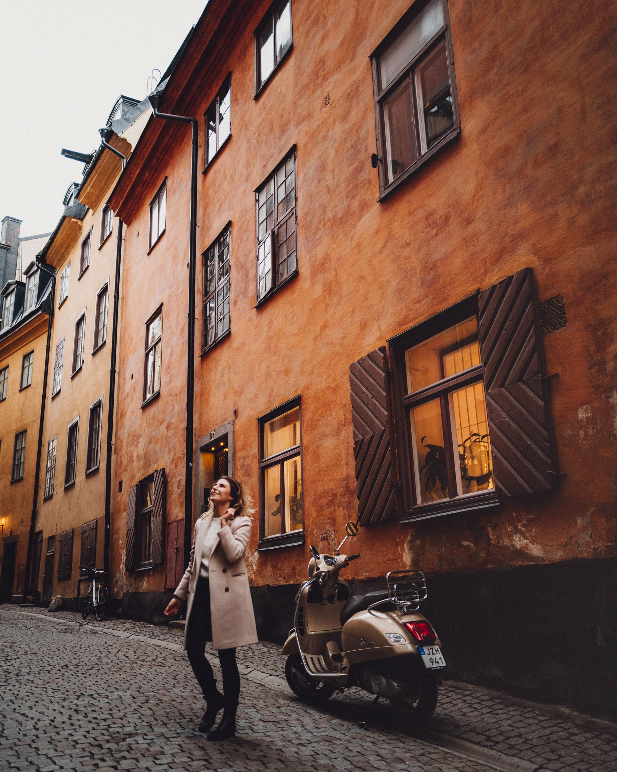 Old town Gamla Stan in fall in Stockholm, Sweden - A Small Luxury Hotel