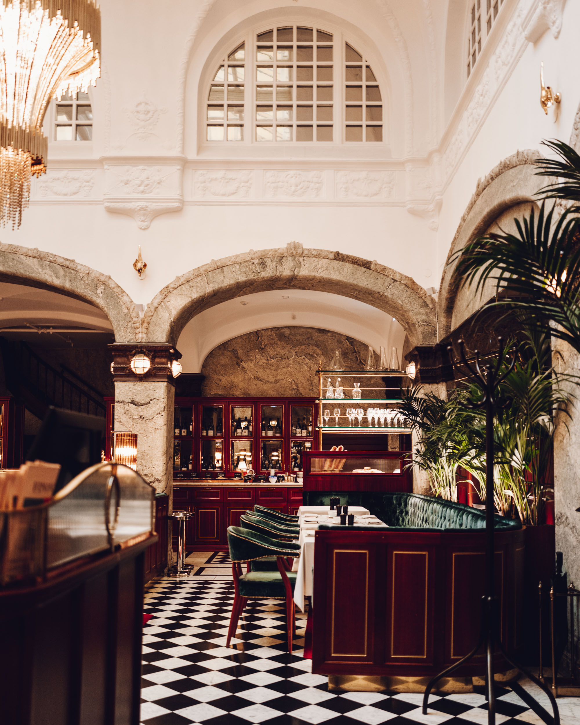 Bonnies restaurant at the Bank Hotel in Stockholm, Sweden - A Small Luxury Hotel