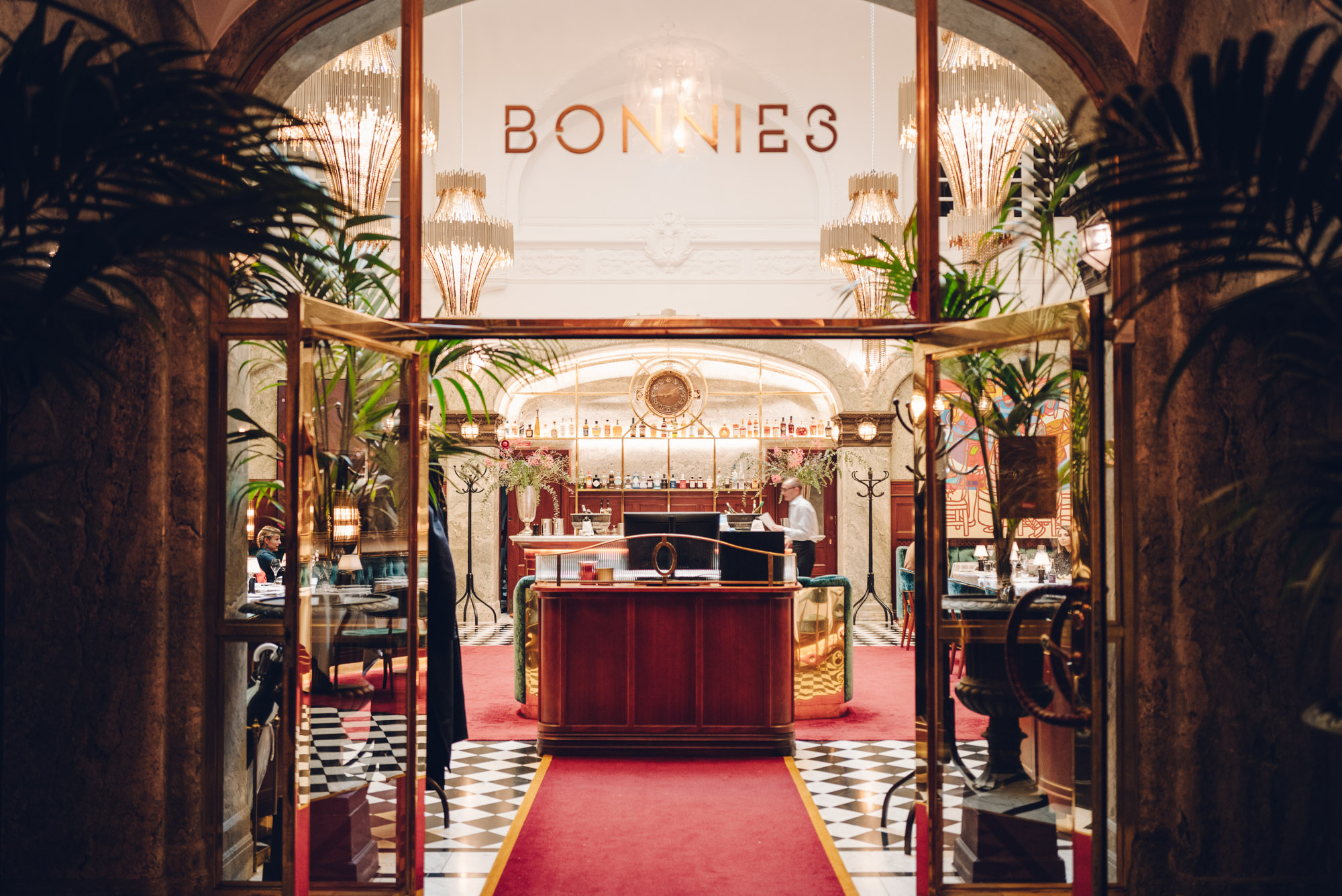 Bonnie's Restaurant at Bank Hotel Stockholm Sweden