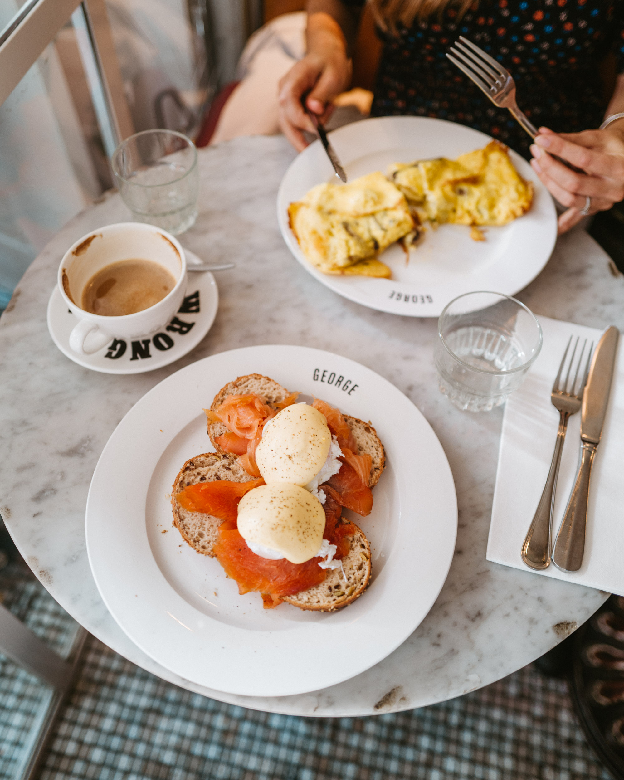 Cafe George Restaurant in Amsterdam for Brunch via @finduslost