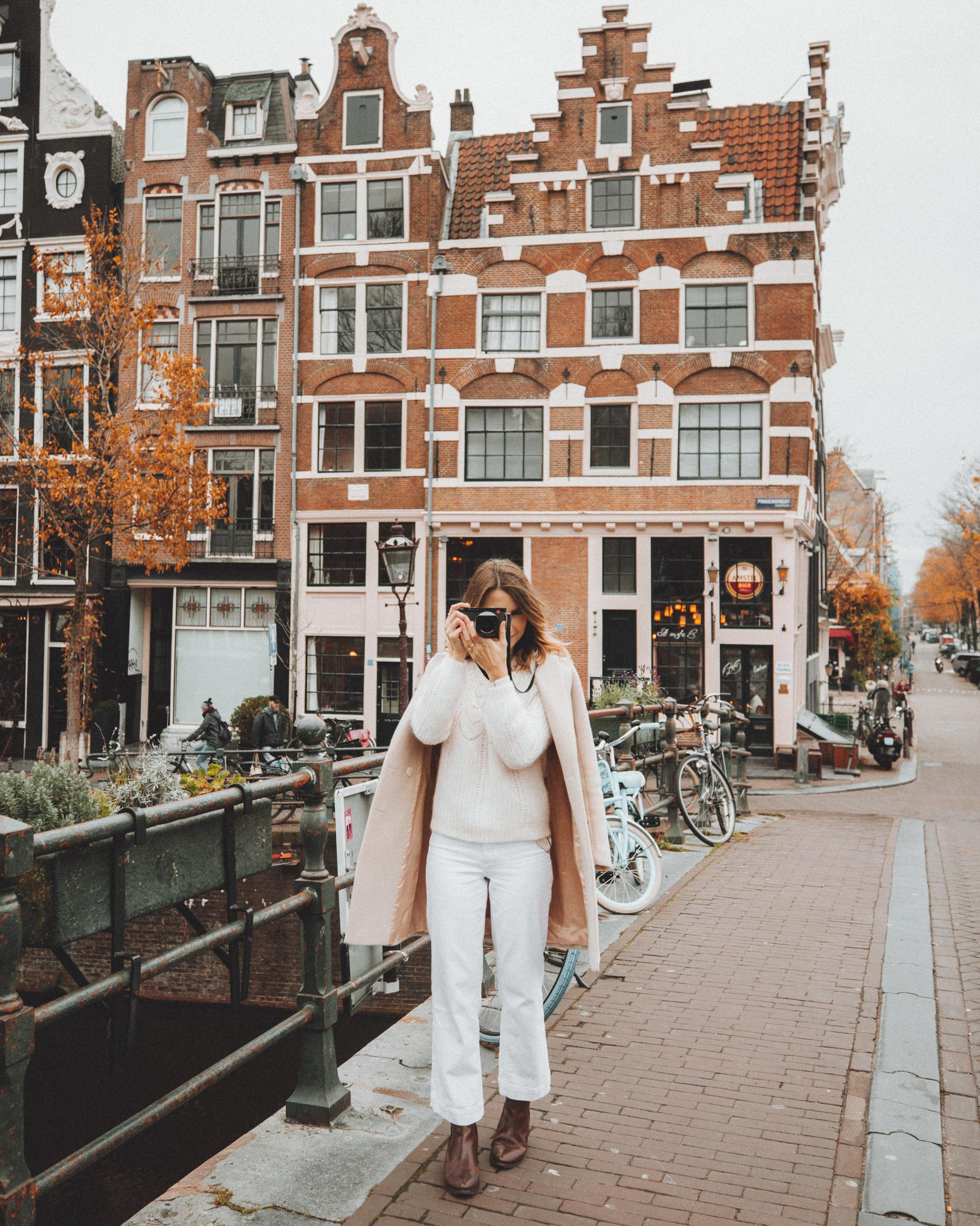 Leica Q2 Taking A Photo in Amsterdam Netherlands