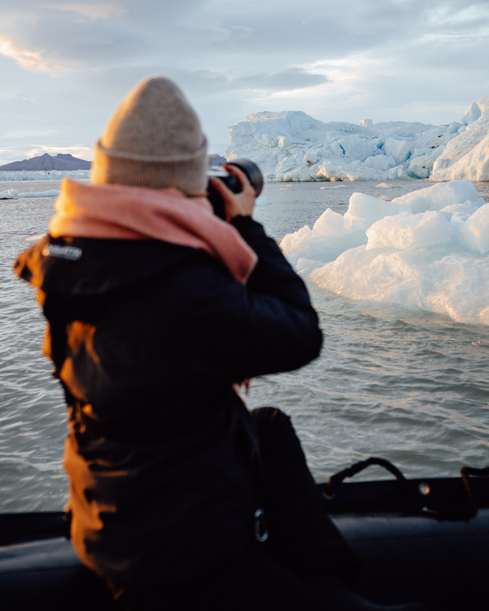 Photographing Glaciers and Landscapes in Svalbard Norway via Find Us Lost