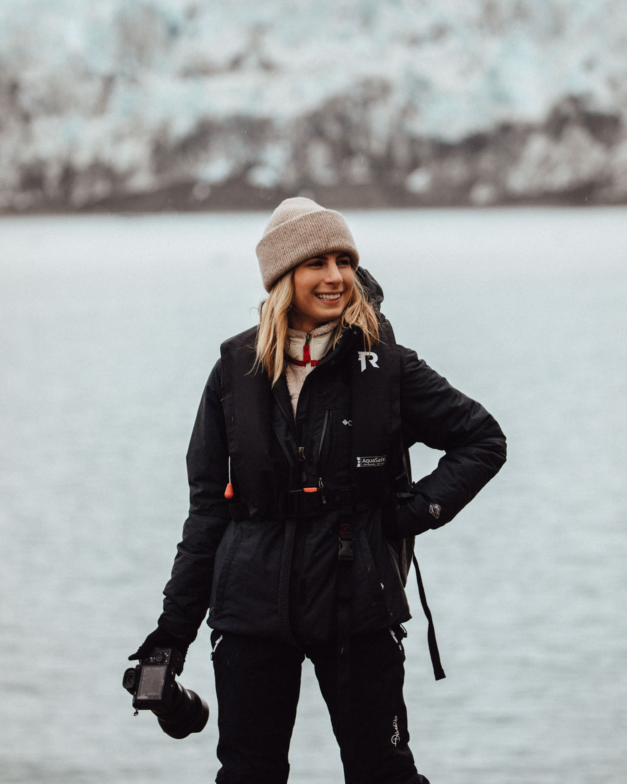 Photographing Glaciers and Landscapes in Svalbard Norway Selena Taylor of Find Us Lost