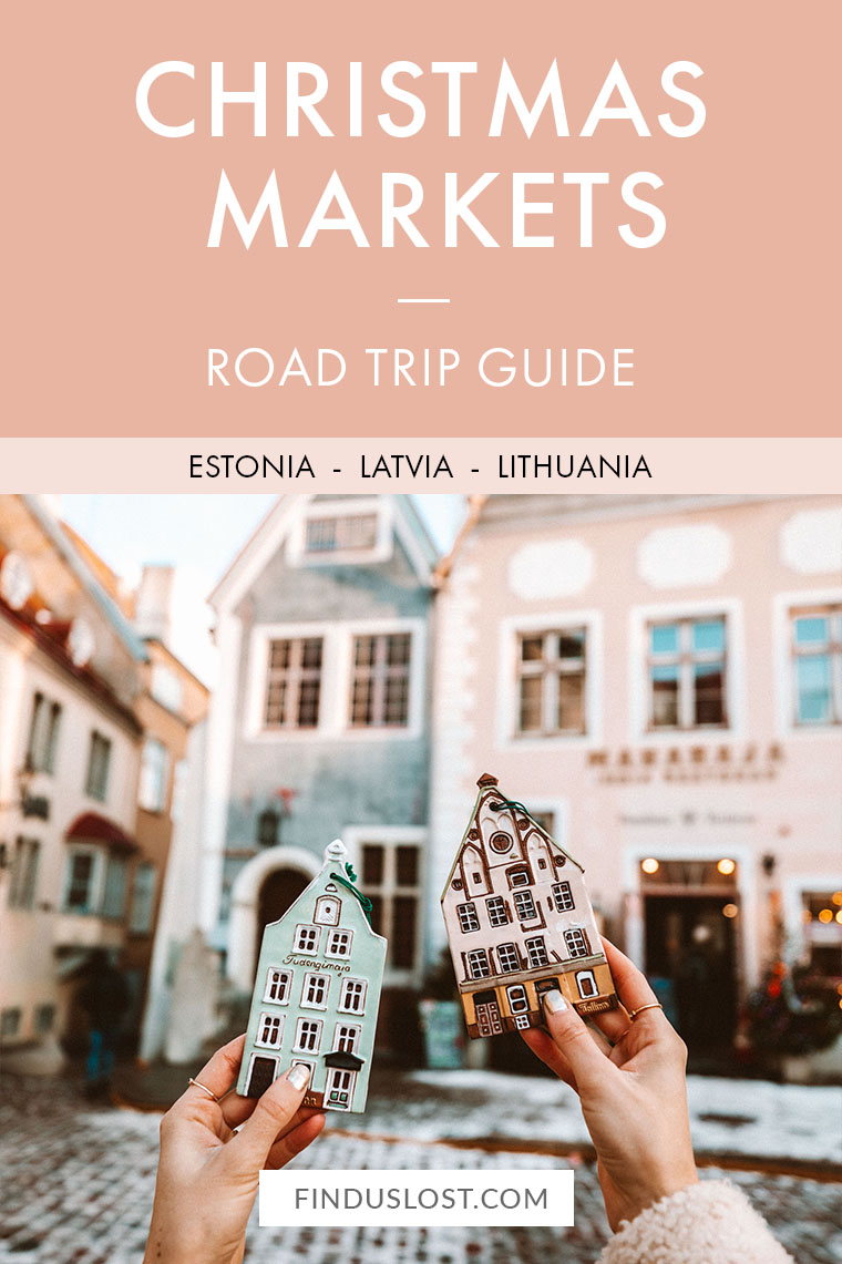 Estonia Latvia Lithuania Christmas Market Road Trip via @finduslost