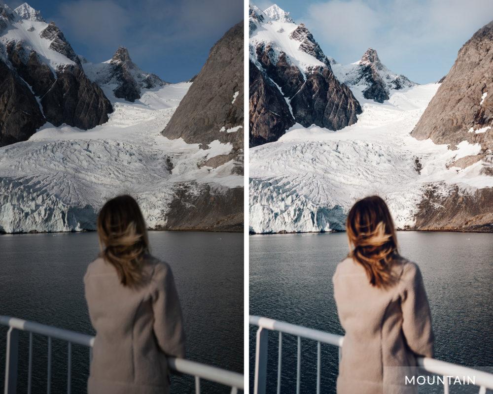 MOUNTAIN - Find Us Lost Winter Preset Collection for Lightroom Desktop
