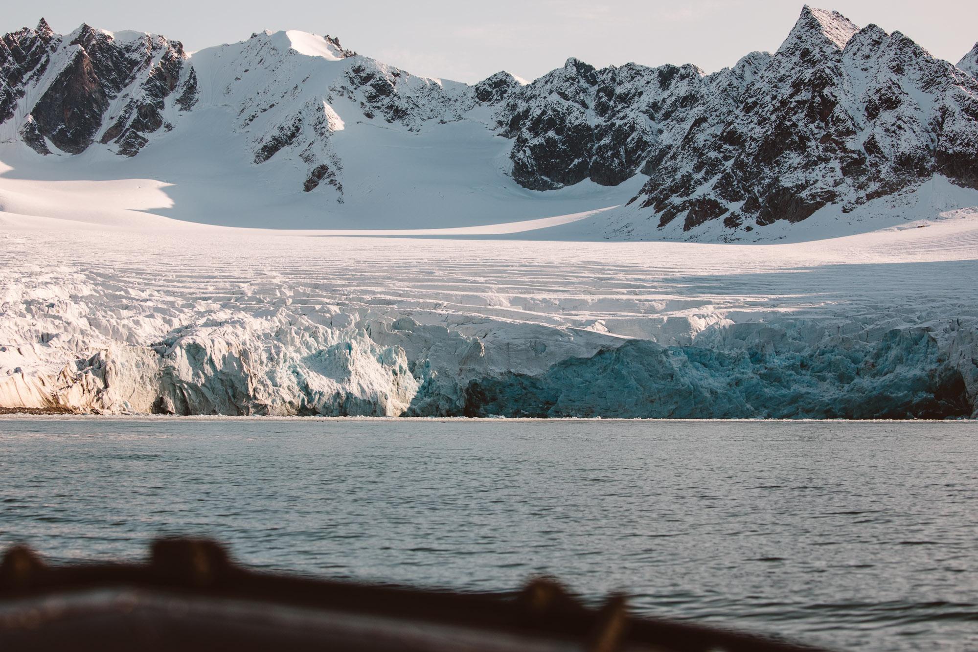 Magdalenefjorden glacier in Spitsbergen Svalbard via Find Us Lost