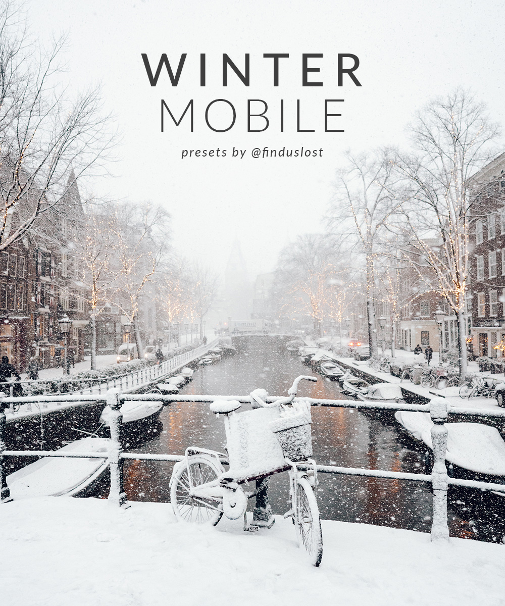 Winter Mobile Find Us Lost