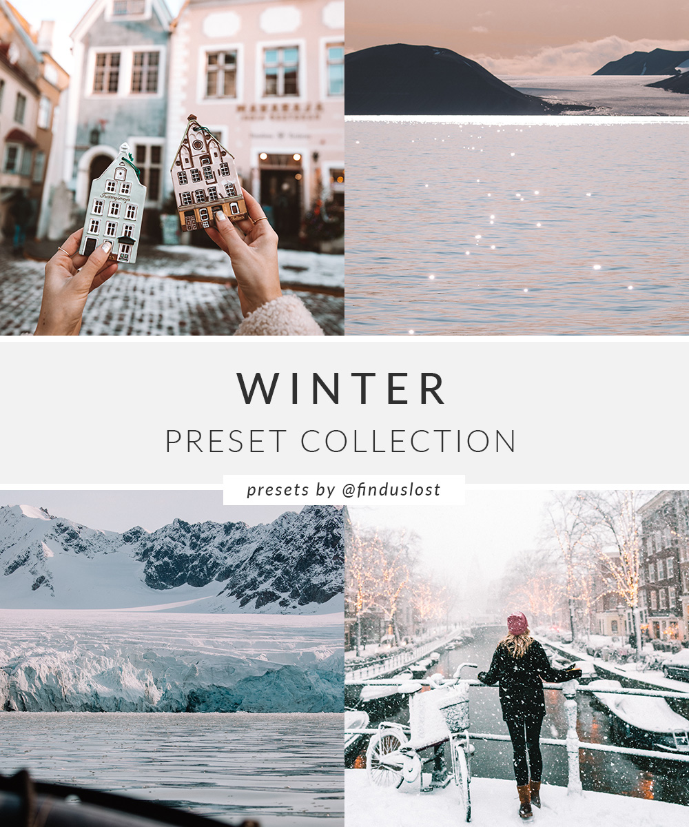 Winter Preset Collection Find Us Lost
