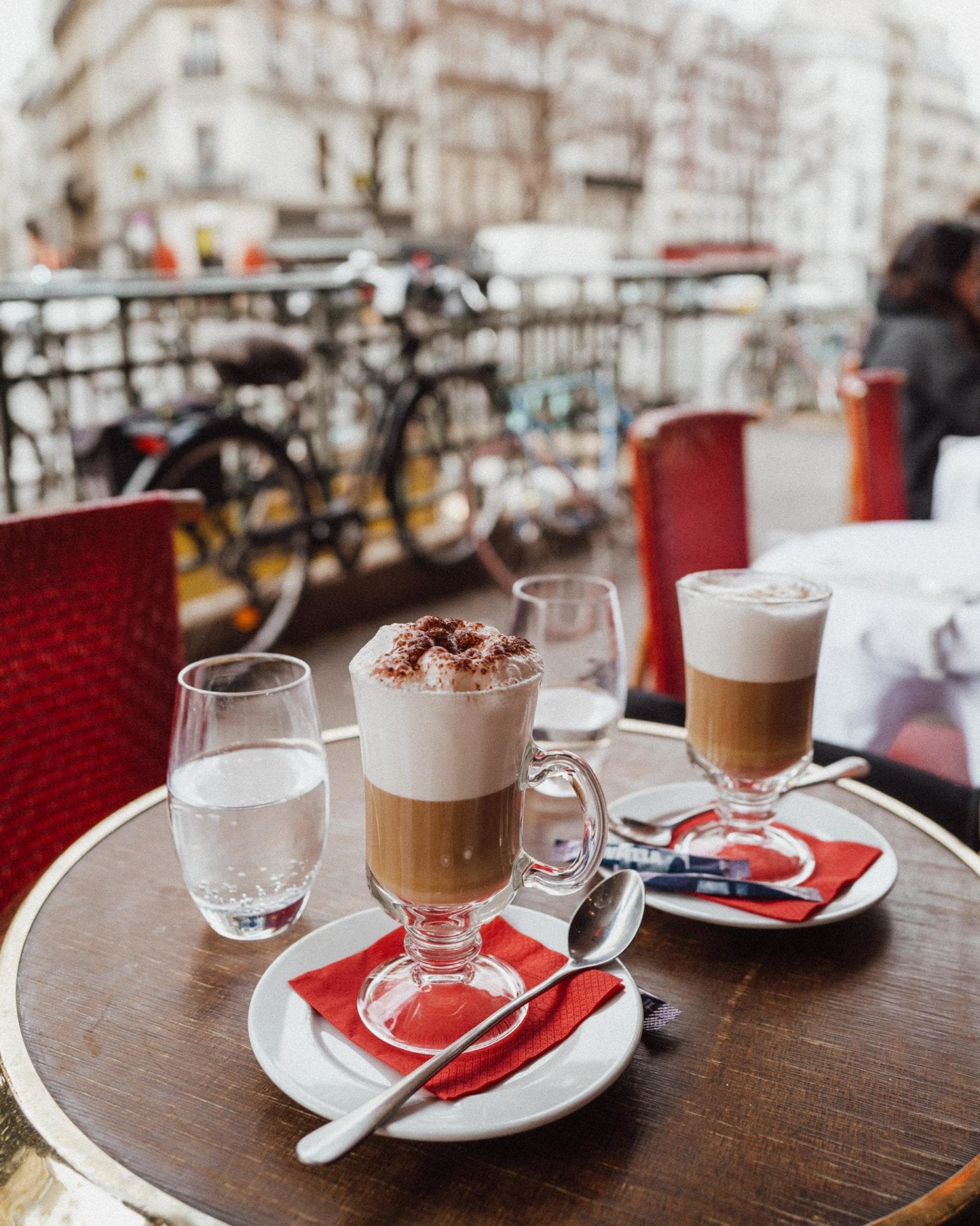 Coffee in Paris France