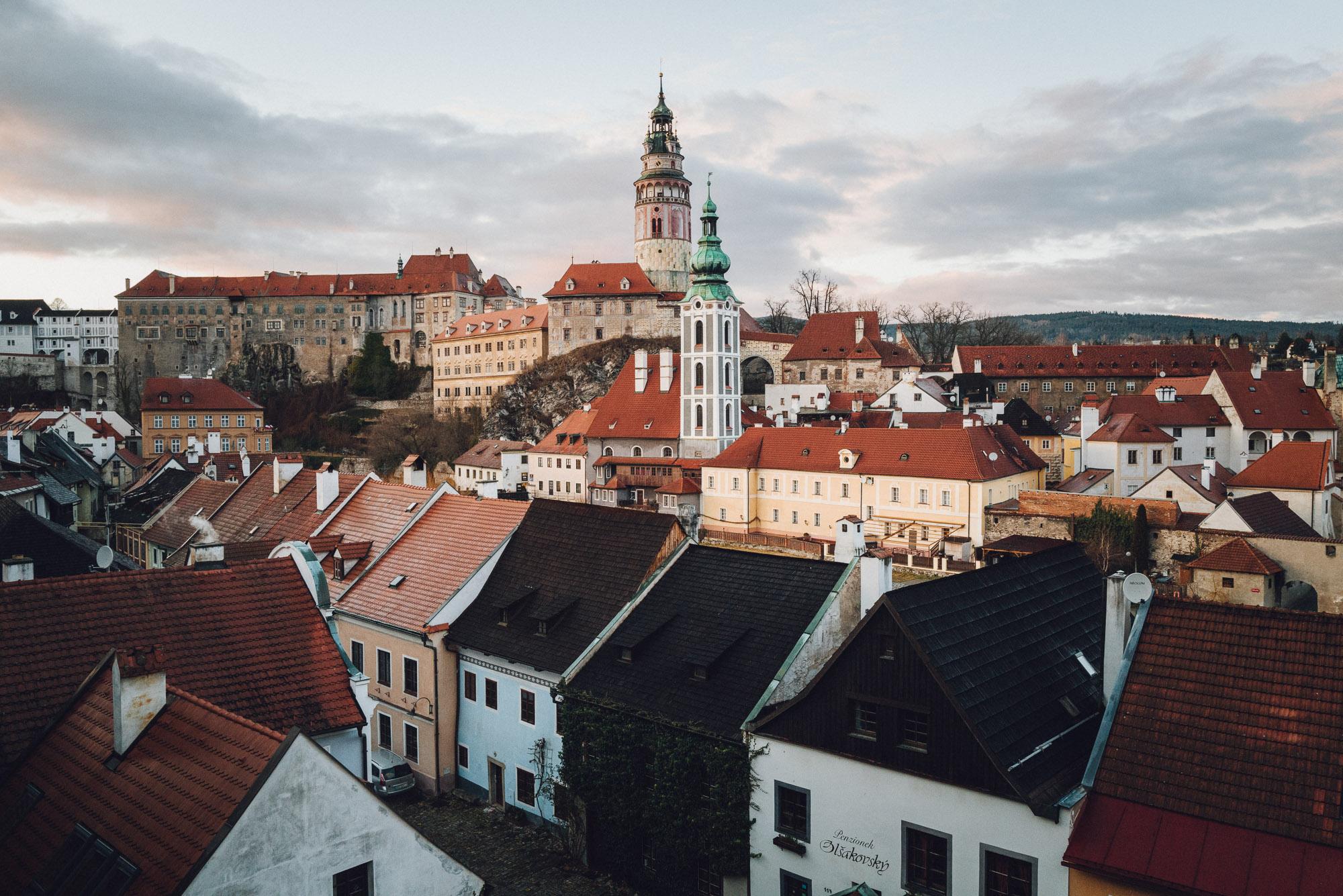 Viewpoint of Cesky, Krumlov.
