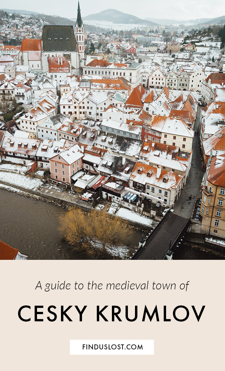 Cesky Krumlov Guide: A Medieval Town in the Czech Republic via Find Us Lost