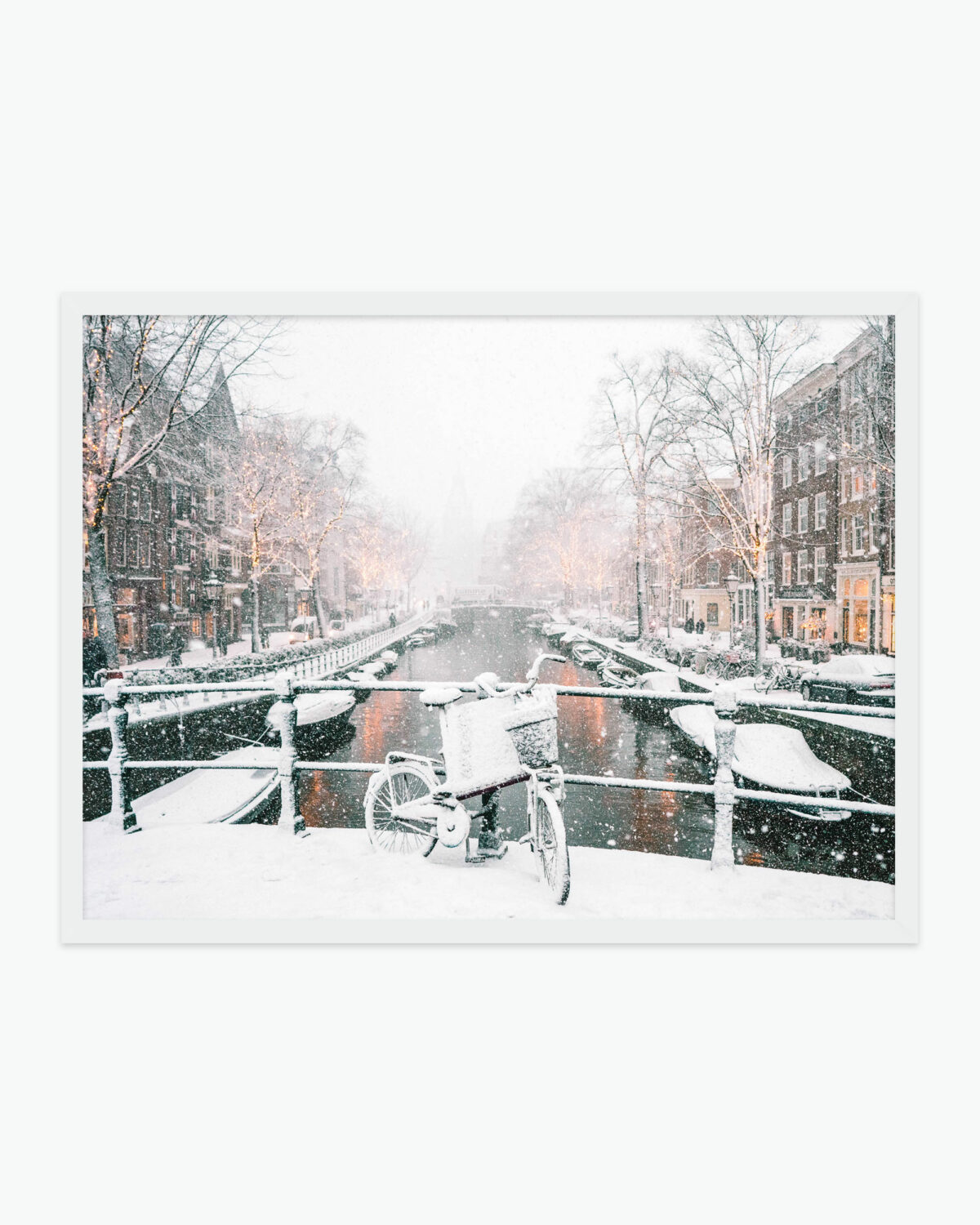 Amsterdam Snow Find Us Lost Prints