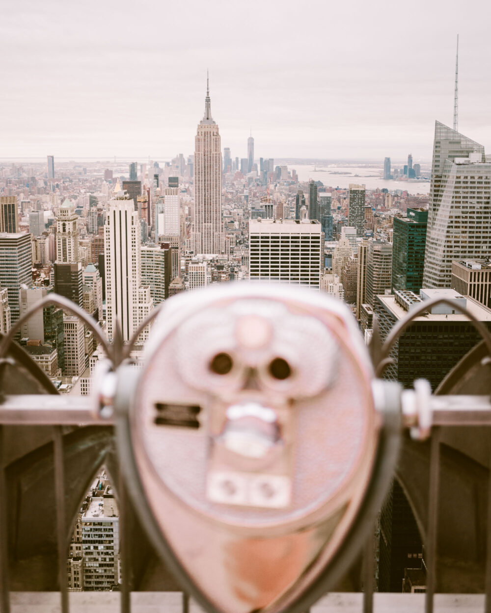 New York Skyline Print Find Us Lost Prints