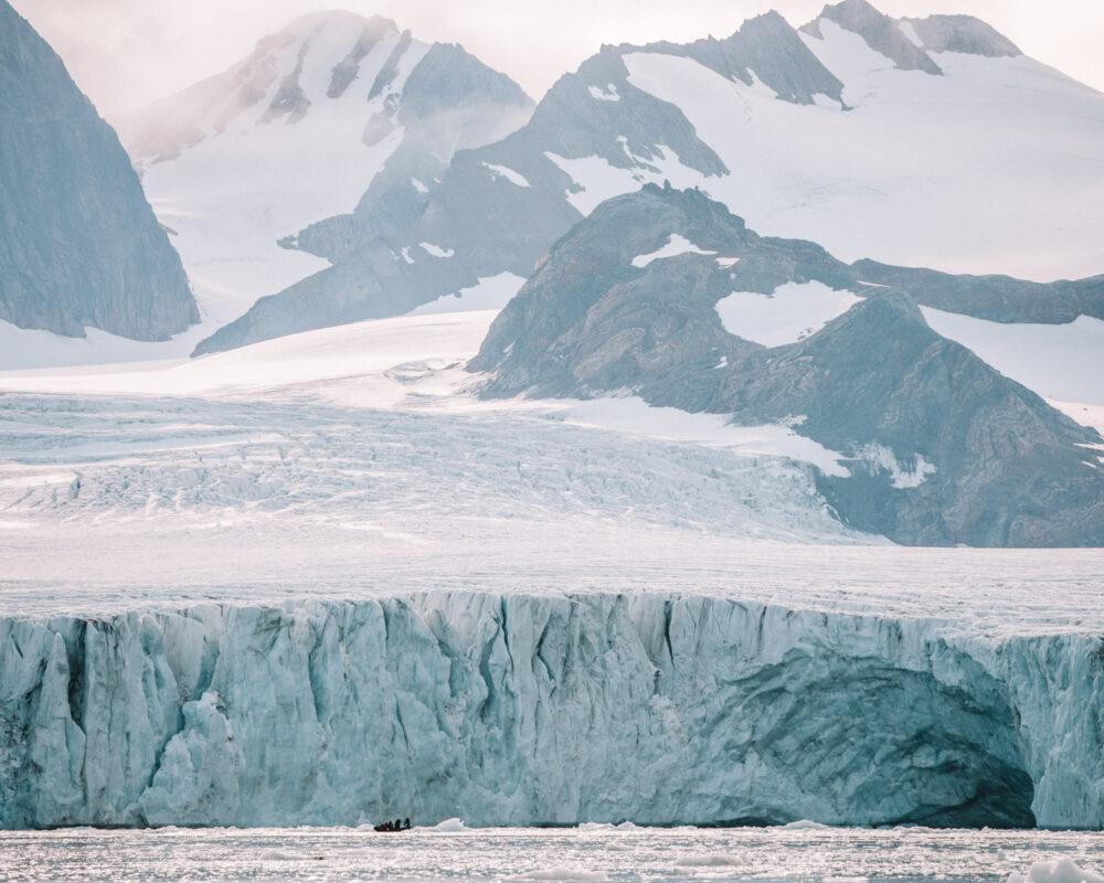 Svalbard Norway Glacier Find Us Lost Prints