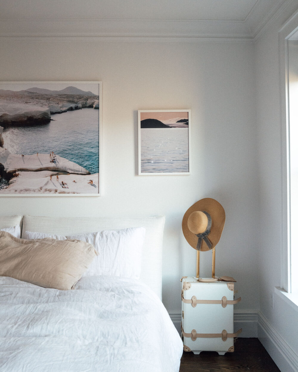 Sunset Print Norway in Bedroom Find Us Lost Prints