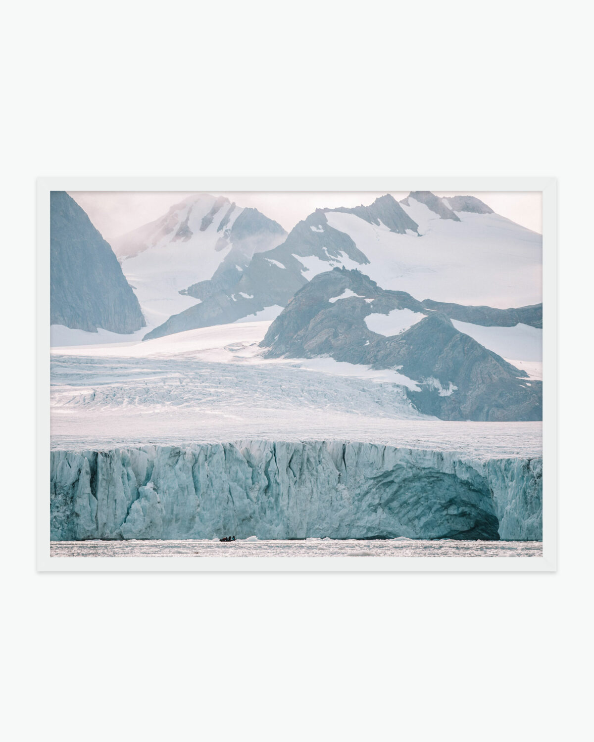 Svalbard Glacier Print Find Us Lost Prints