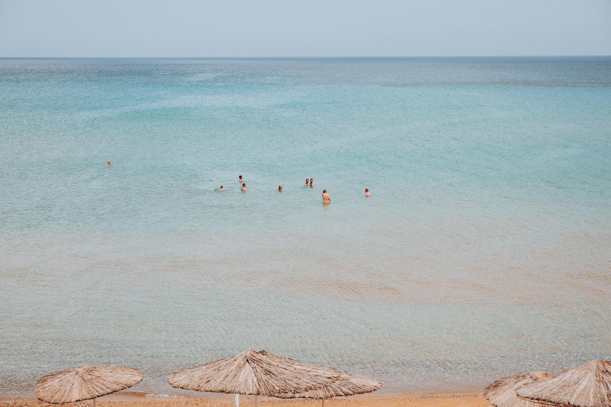 Paralia Vasilikos beach in Zakynthos Greece