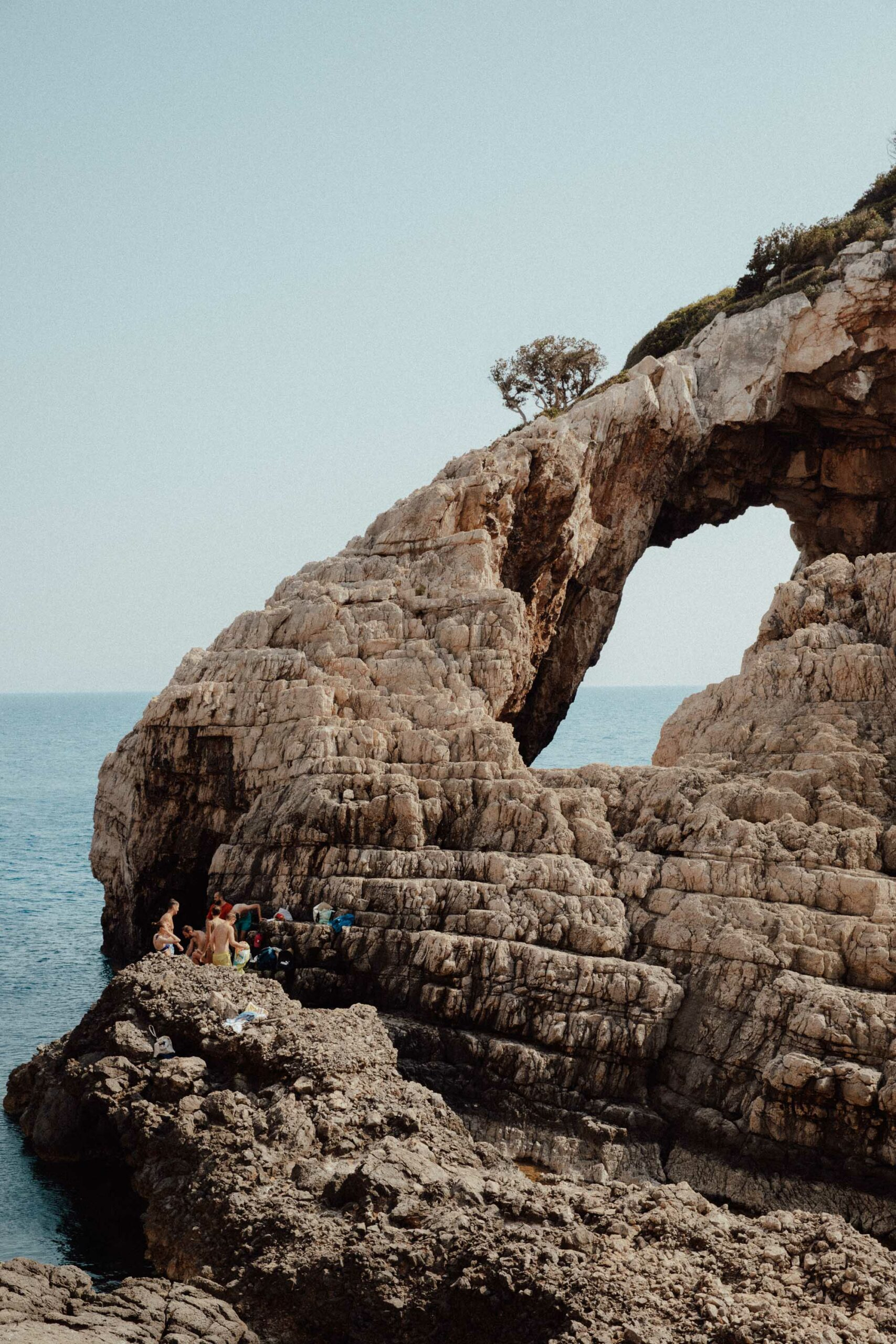 Korakonissi beach in Zakynthos Greece
